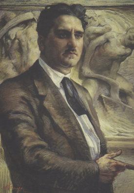 Dipinto Giuseppe Di Vagno Praver